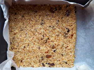 Oat and coconut biscuit