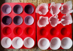 Muffin paper cases