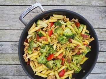 pasta pesto broccoli